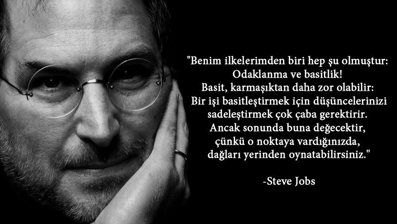 Steve Jobs Basit Dusunmek