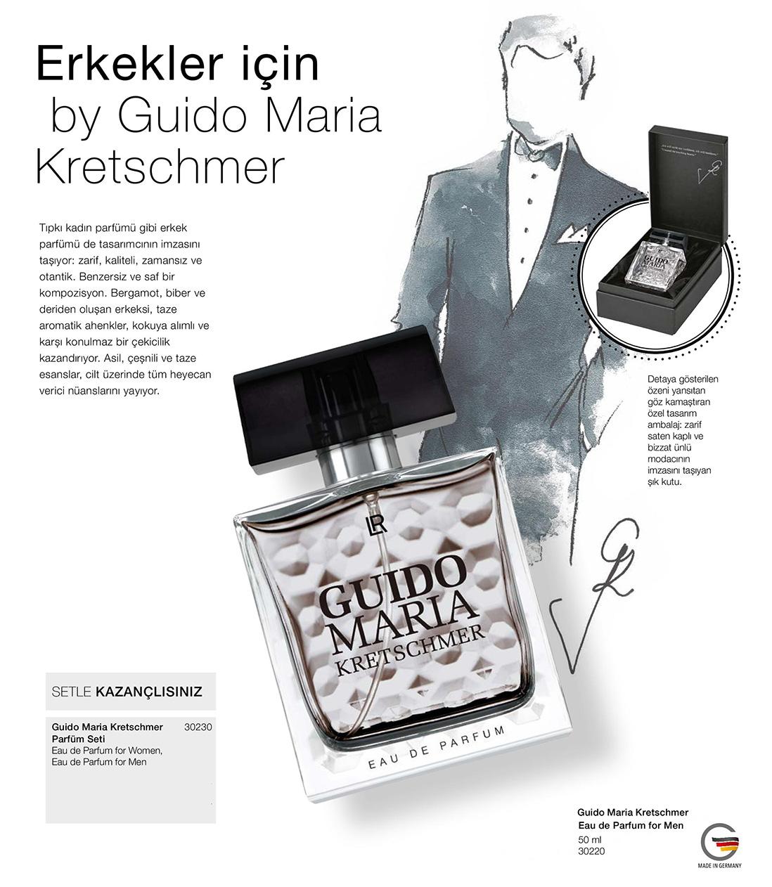 lr guido maria kretschmer erkek parfum katalog