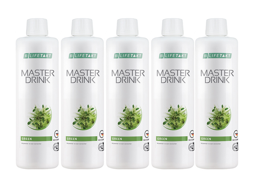 LR Master Drink Formula Green 5li Set