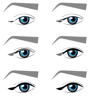 lr likit eyeliner uygulama