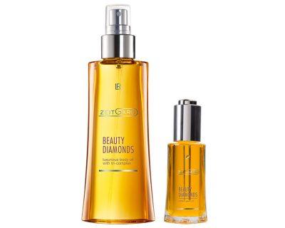 LR Beauty Diamonds Body Oil Set