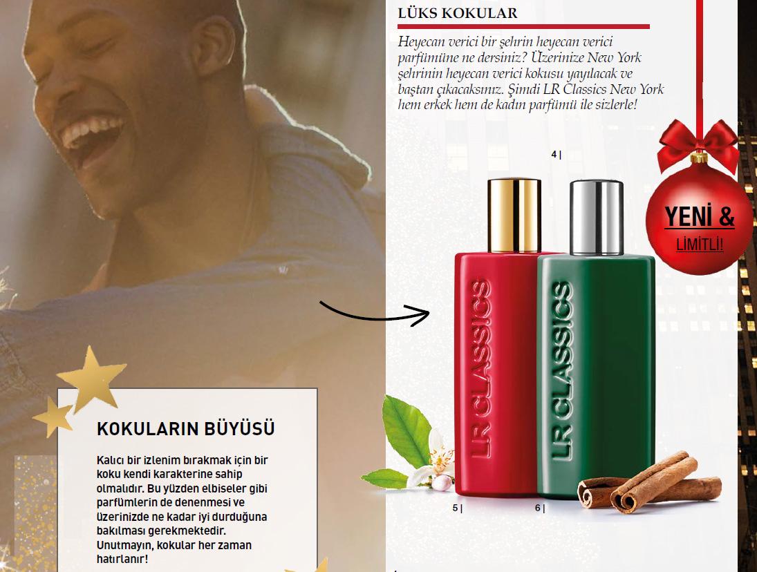 LR Classics Deluxe New York Parfum Katalog