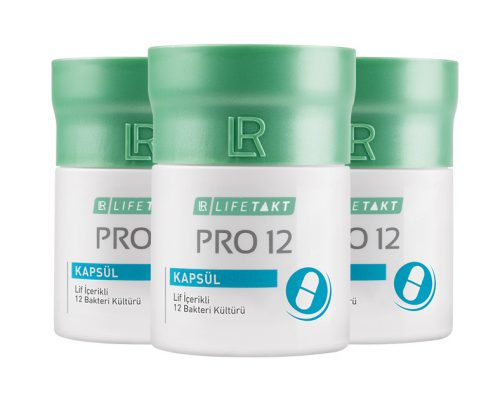 lr pro12 probiyotik kapsul 3lu set