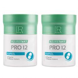 lr pro 12 probiyotik kapsul 2li Set