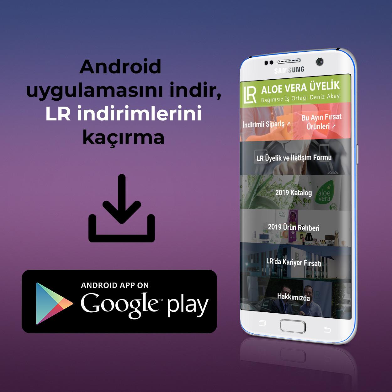 LR Aloe Vera Android Uygulamasi Indir