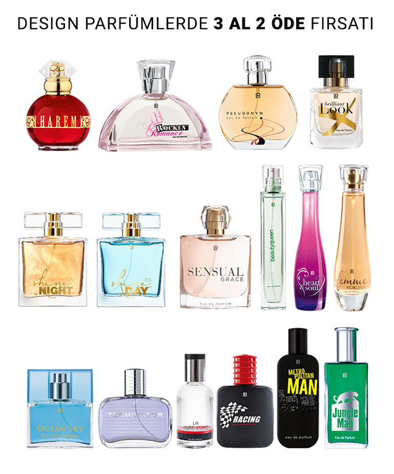 LR Design Parfüm 3 Al 2 Öde