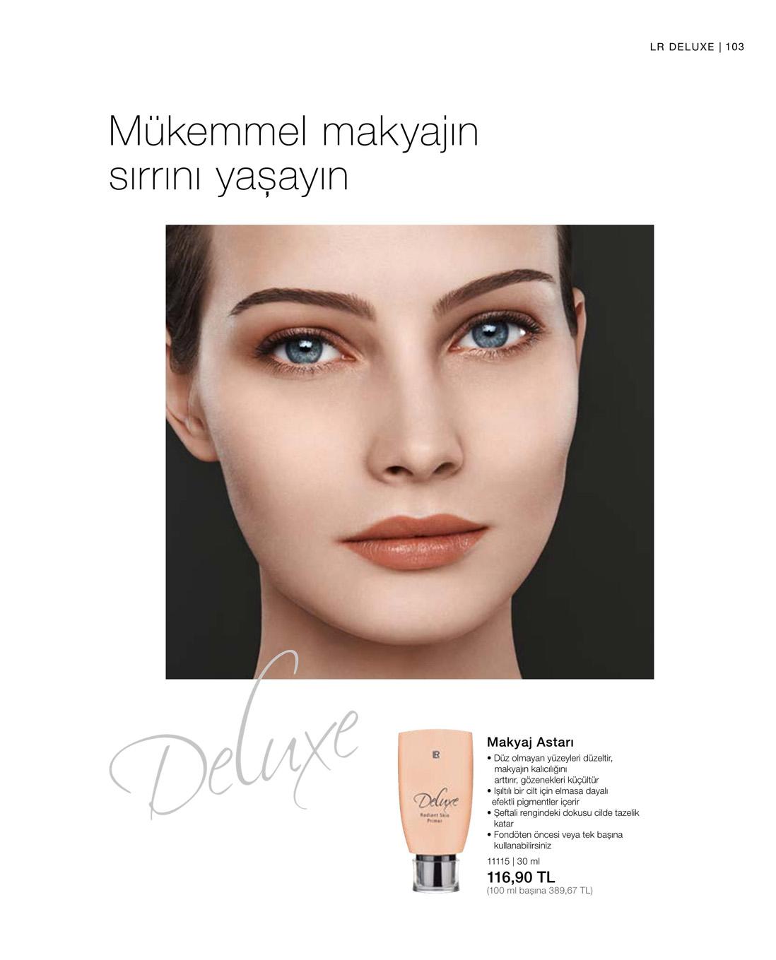 LR Deluxe Makyaj Astarı katalog
