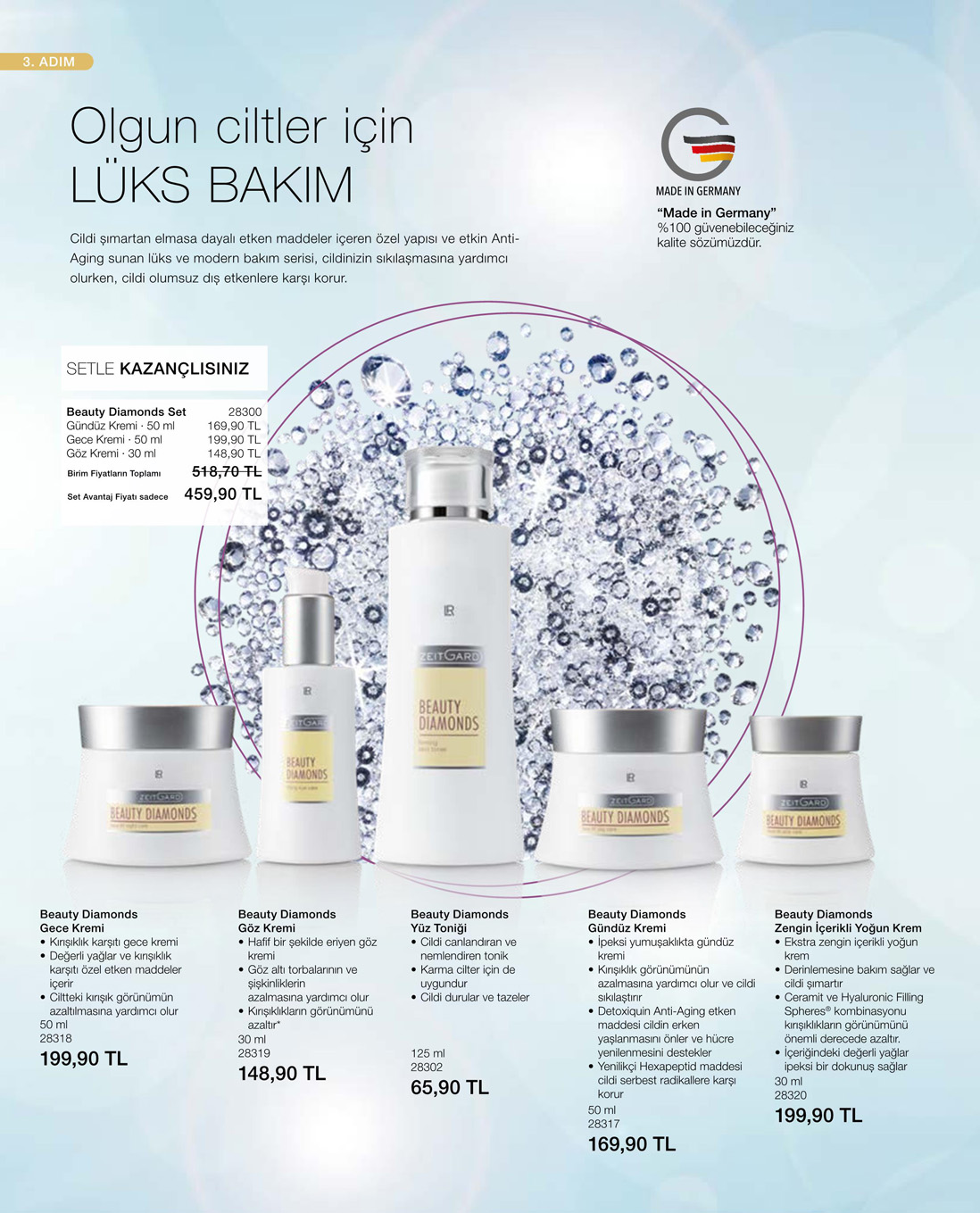 LR Beauty Diamonds Gece Kremi katalog