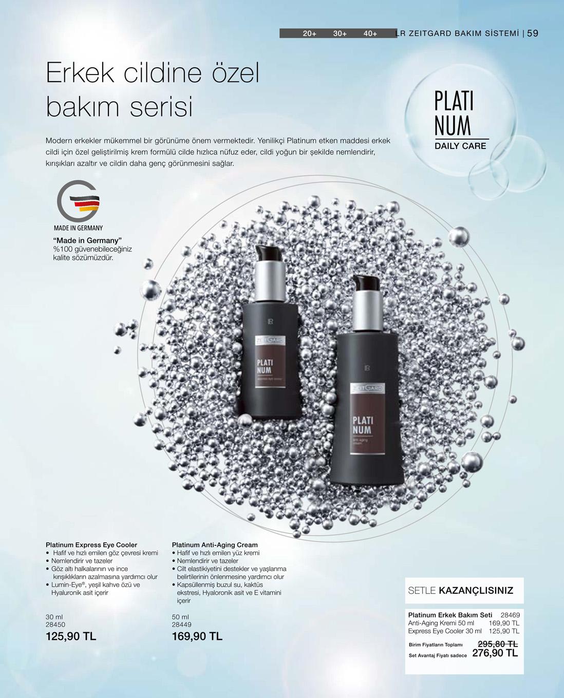 LR Platinum Express Eye Cooler katalog