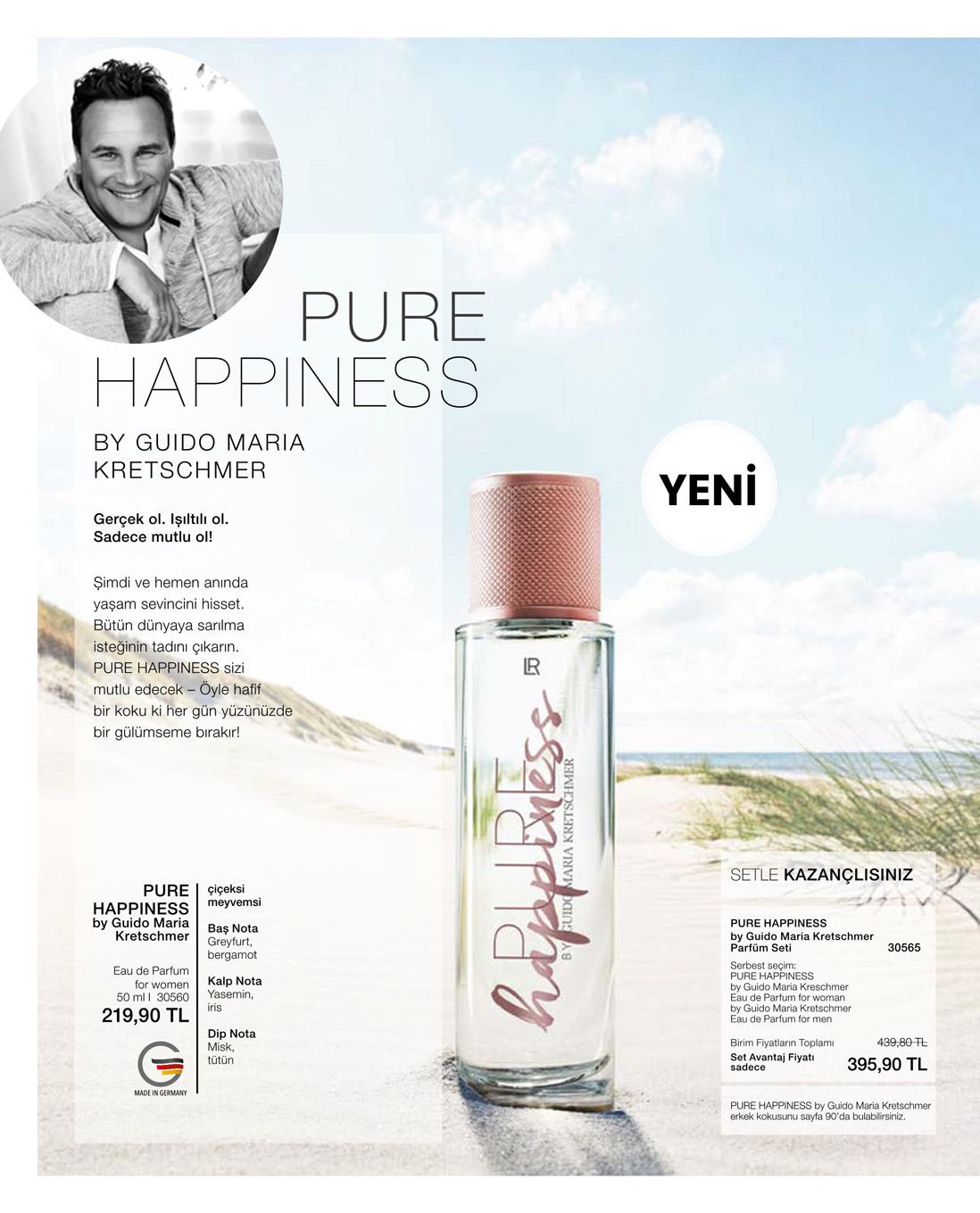 LR PURE Happiness by GMK 2'li Parfüm Seti katalog