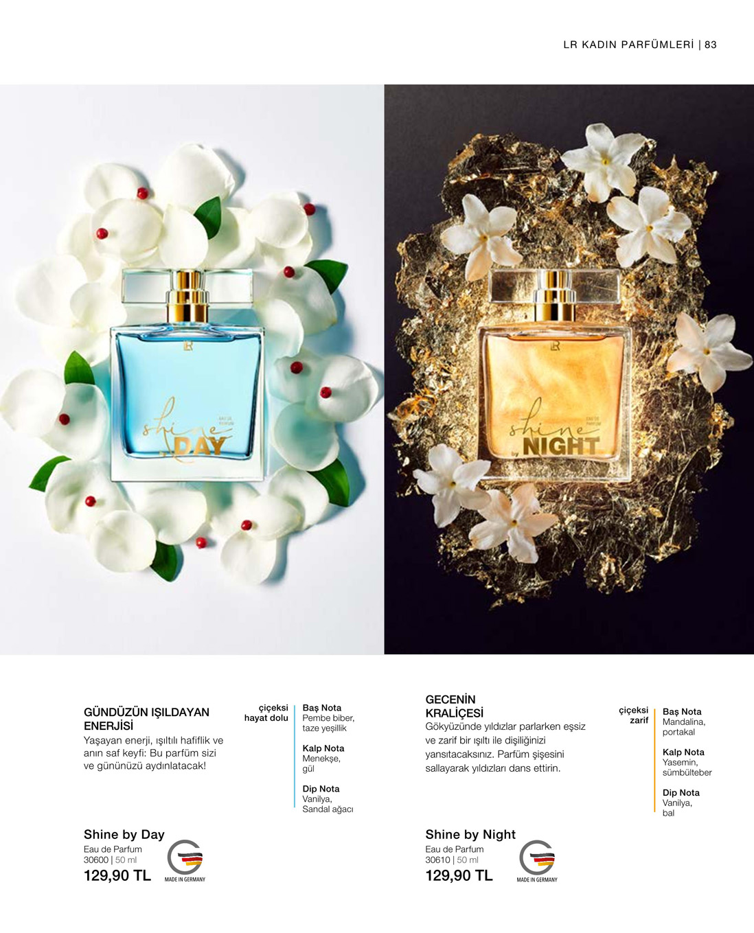 LR Shine by Day EdP katalog