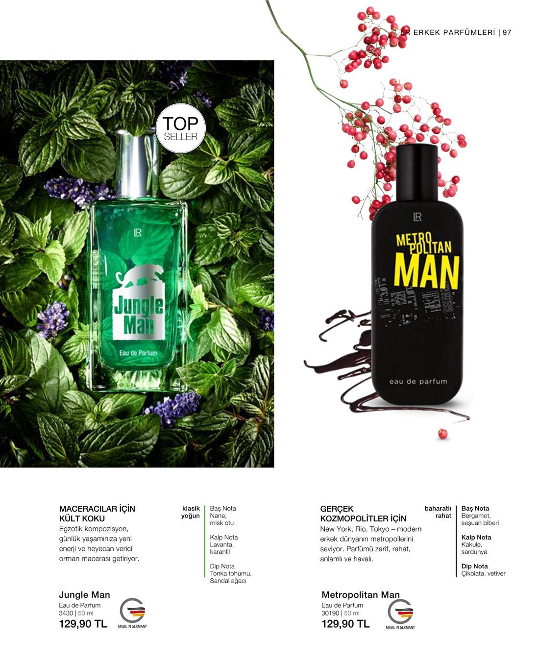 LR Jungle Man EdP katalog